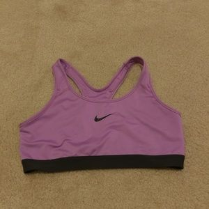 Pink Nike Dri Fit Sports Bra